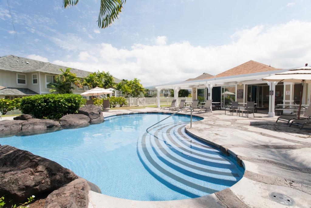 Pool in Kona, Big Island of Hawaii